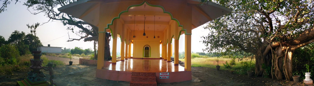Goa, Arambol, Temple (inside)