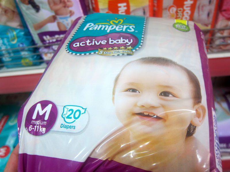 Pampers M