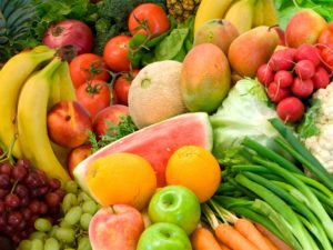 Vegetable Fruit Still Life Close Up 1920x1440 Wallpaper