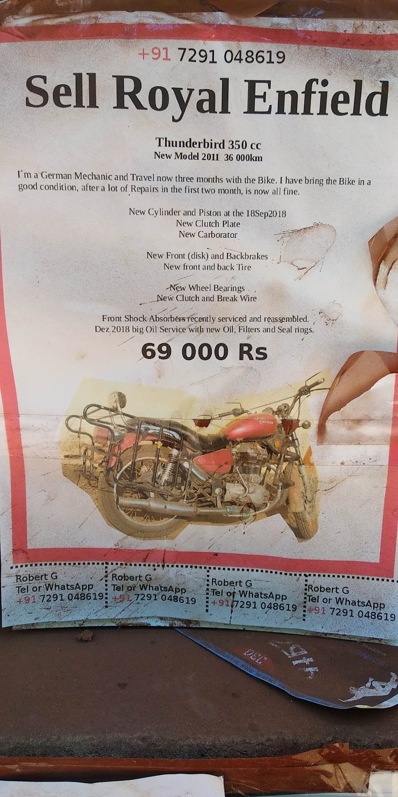 Sell Royal Enfield